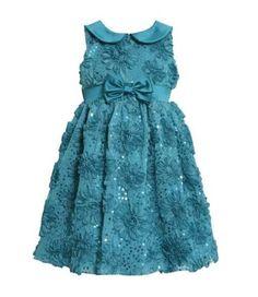 Bonnie Jean Girls Bonaz Sequins Mesh Fall Holiday Dress, Teal, 2T Bonnie Jean http://www.amazon.com/dp/B00E83OWDQ/ref=cm_sw_r_pi_dp_4Kdjub1J6V050