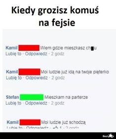 No i lipa Wtf Funny, Funny Memes, Jokes, Polish Memes, Funny Messages, Best Memes, Haha, Comedy, Humor