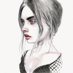 Cara Sketch by Tomasz-Mro on DeviantArt
