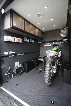 GK 170 Moto Hauler - Includes Bike Mounts, Wall Cabinets, L-Track's, Fender Storage Boxes and more. Enclosed Trailer Camper, Cargo Trailer Camper, Bike Trailer, Cargo Trailers, Utility Trailer, Enclosed Motorcycle Trailer, Cargo Trailer Conversion, Camper Van Conversion Diy, Fabric Window Shades