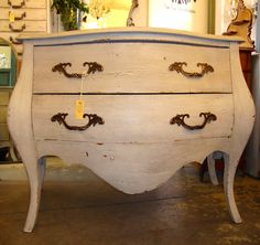 The Pot Belly, Bombay Commode. Another must for any room !
