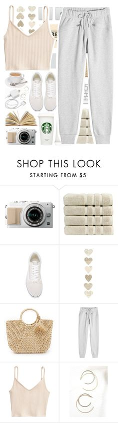 """""""Sunday feels"""" by stelbell ❤ liked on Polyvore featuring Christy, Vans, Hat Attack and adidas"""