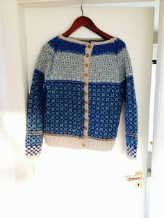 Ravelry: Project Gallery for Wiolakofta pattern by Kristin Wiola Ødegård Sweater Cardigan, Men Sweater, Bobbin Lace, Knitting Designs, Ravelry, Stitch Patterns, Knitwear, Knit Crochet, My Style