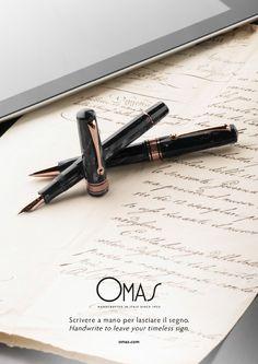 Omas.com http://www.lelecorni.com/omas-com/  #Luxury, #Omas, #PRODUCT #lelecornistudio