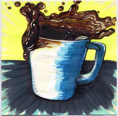 I drew you a Splash of Coffee | Flickr - Photo Sharing!