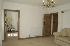 Wooden doors and skirting boards