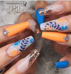 Ina Markova on Insta Wedding Acrylic Nails, Best Acrylic Nails, Summer Acrylic Nails, Nail Swag, Mauve Nails, Gel Nails, Long Nail Designs, Nail Art Designs, Stylish Nails