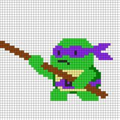 Donatello Tmnt by Arcanjulio on Kandi Patterns