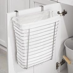 14. Over-the-cabinet Garbage Bin | Space Saving Ideas For Your Studio Apartment