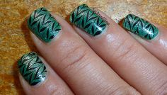 awesome #stamped mani