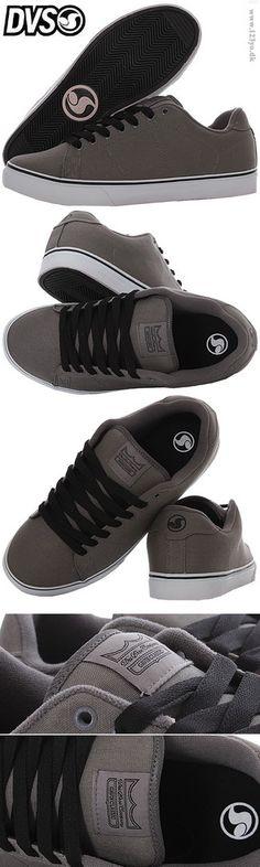 DVS sko - DVS Canvas sneakers - i grå farve - model Gavin - leveres med 2 par snørebånd(i sort og grå farve) - holdbar gummisål - Pasform: Bredde: lidt bredt, Længde: normal længde www.123yo.dk