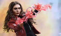 Share this with your friends and receive a $15 promo code. Click here to write your message. Marvel Scarlet Witch Sixth Scale Figure