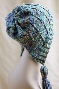 In Bloom Knitted Bonnet--Free Pattern