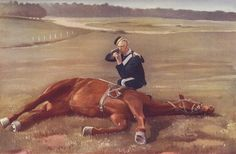 Trooper of the 6th Dragoon Guards in Home Service Uniform: the regiment was part of Dundonald's Mounted Brigade at the Battle of Colenso