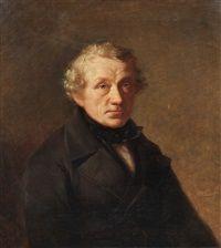 Portrait eines Herren, 1853, Wilhelm Carl Juncker