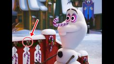 Olaf's Frozen Adventure Trailer Easter Eggs & Hidden Mickey !! Disney Ol...