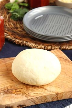 The easiest, tastiest pizza dough....ever. No-Fail Pizza Dough