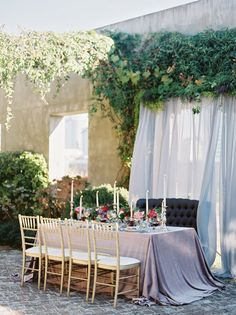 La Tavola Fine Linen Rental: Velvet Rose | Photography: A Thomas Photography, Styling: Evermore Weddings & Events, Floral Design: Forage & Flower, Venue: Summerour Studio, Rentals: Crush Event REntals