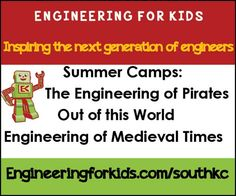 Inspire your children to become engineers and explore the world with Engineering for Kids!!  // For more family resources visit www.ifamilykc.com! :)