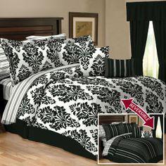Cosmopolitan Reversible 10 Piece Bedding Set ~ Anna's Linens $59.99