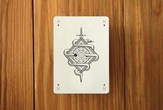 Custom Playing Cards, Pedale Design.