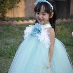 26.55$  Buy now - https://alitems.com/g/1e8d114494b01f4c715516525dc3e8/?i=5&ulp=https%3A%2F%2Fwww.aliexpress.com%2Fitem%2FAqua-Mint-Flower-Girl-Dresses-Eggplant-Flower-Wedding-Princess-Girl-Party-TuTu-Dress-Party-Birthday-Dresses%2F32672830608.html - Aqua Mint Flower Girl Dresses Eggplant Flower Wedding Princess Girl Party TuTu Dress Party Birthday Dresses Custom