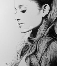 Ariana Grande by FromPencil2Paper.deviantart.com on @DeviantArt