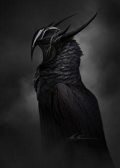 Ravenmech by AlexRuizArt.deviantart.com on @deviantART