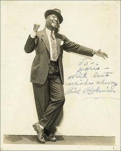 "Bill 'Bojangles"" Robinson 