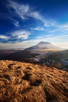 """Landscapes - """" Puy de Dôme """", king of the volcano park Clermont Ferrand, Poitou Charentes, Beautiful Photos Of Nature, Out Of This World, Nature Animals, Planet Earth, Volcano, Wonders Of The World, Amazing Photography"""