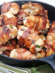 Bacon-Wrapped Jalapeño Chicken Bites