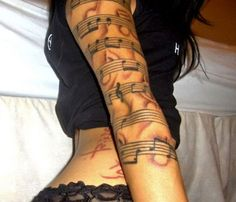 music arm. No shading though.