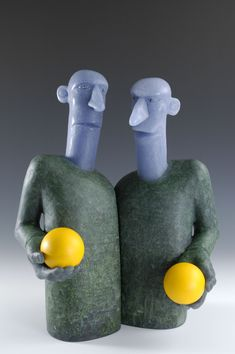 Artist: David Reekie  Title: Negotiators VI Process: Cast glass Size: 16.25 x 14 x 5.25 Inches Year: 2016 Please contact the gallery for pricing  Habatat Galleries 248.554.0590 – info@habatat.com