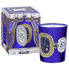 Diptyque Scented Candle Un Encens Etoile Holiday 2016 featuring polyvore, home, home decor and holiday decorations