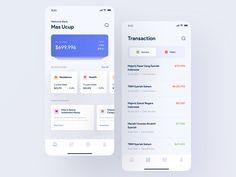 uStock - Investment App by Malik Abimanyu for Keitoto on Dribbble App Ui Design, Interface Design, Financial Apps, Mobile App Ui, Mobile Design, Finance, Investing, Design Inspiration, Branding