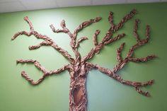 DIY Handmade : DIY Giant Classroom Wall Tree