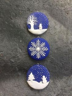 Awesome 37 Amazing Diy Ornaments Christmas Design Ideas For The Kids To Try. # christmas ornaments ideas 37 Amazing Diy Ornaments Christmas Design Ideas For The Kids To Try Knit Christmas Ornaments, Clay Christmas Decorations, Polymer Clay Christmas, Christmas Knitting, Polymer Clay Ornaments, Ornaments Ideas, Ornaments Design, Christmas Design, Christmas Art