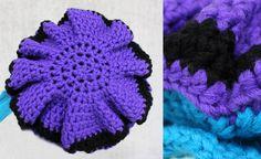 Crochet Diagram, Crochet Hats, Crochet Ideas, Winter Hats, December, Knitting, Pattern, Land, Om