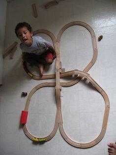 ikea train layout