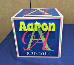 Custom Logo Gift Box http://www.idealpartydecorators.com