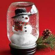 Homemade Christmas Decorations - Snowman