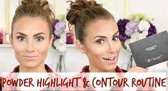 How To: Highlight & Contour with Powder || Anastasia Beverly Hills Contour Kit Tutorial #HelloGorgeous #AngelaLanter #HelloGorgeousTV