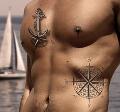 3700958900373 TATTOO ID XXL MARINS ancre et rose des vents tatouage ephemere temporaire hypoallergénique Fabriqué en FRANCE 1 planches 22cm x 14,5cm Homme Femme Tattoo Homme, Rose Tattoos, Compass Tattoo, Grand Format, France, Amazon Fr, Images, Tattoo Chart, Tattoo Ideas