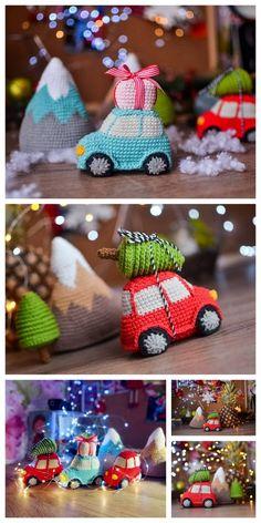 Pinned by ❃❀CM❁✿⊱Amigurumi Designers: Lysenko Crochet - Amiguru . - Pinned by ❃❀CM❁✿⊱Amigurumi Designers: Lysenko Crochet – Amiguru …, - Chat Crochet, Crochet Mignon, Crochet Amigurumi, Crochet Dolls, Free Crochet, Crochet Car, Ravelry Crochet, Diy Natal, Holiday Crochet