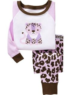 Printed PJ Sets for Baby  I'd love to get this for Tegan!!! *5t*