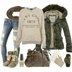 Love the relaxed look......now if only I was in a place that had REAL winter *sigh