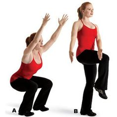 Chair Pose Squat  http://www.womenshealthmag.com/fitness/squat-chop?workout=9681