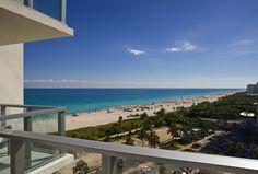 Ocean view at W South Beach