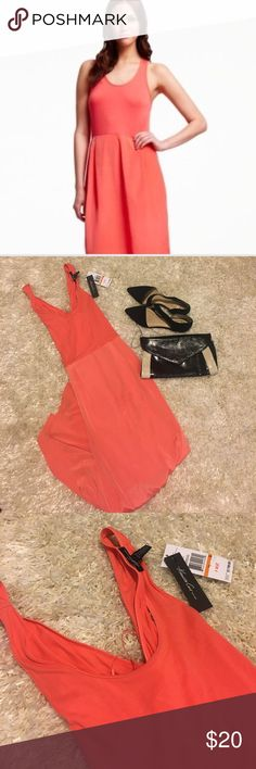 Kenneth Cole Maxi Dress Designer Maxi Dress from Kenneth Cole. New with tags. Salmon color. Kenneth Cole Dresses Maxi