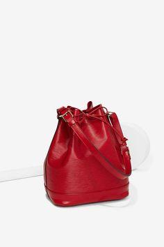 Vintage Louis Vuitton Noe Epi Leather Bucket Bag